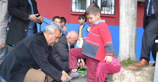 100 köy okuluna 100 kütüphane projesi yüz güldürüyor
