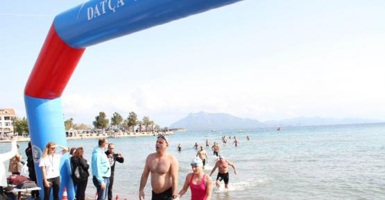 11. Datça Açık Deniz Kış Yüzme Maratonu yapıldı