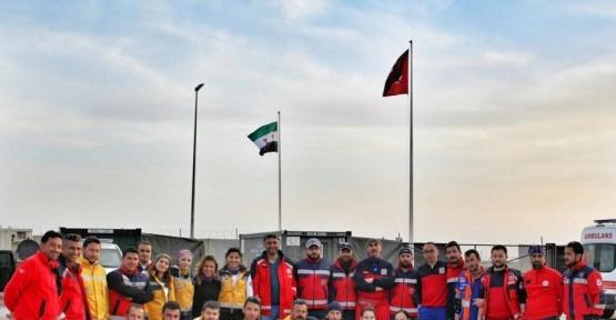 5 ilden gelen UMKE ekipleri görevi devretti