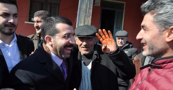 AK Parti İl Başkanı Adem Çalkın'a sevgi seli
