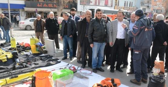 Aksaray'da AFAD sergi açarak vatandaşı bilgilendirdi