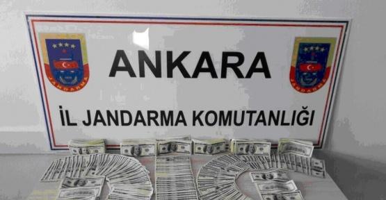 Ankara'da sahte 137 bin dolar ele geçirildi