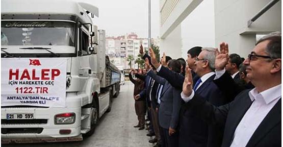 Antalya Halep'e Gönül Köprüleri Kurmaya Devam Ediyor