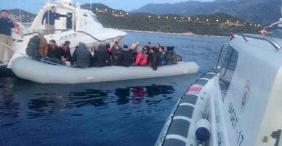 Antalya'da 41 Suriyeli göçmen yakalandı