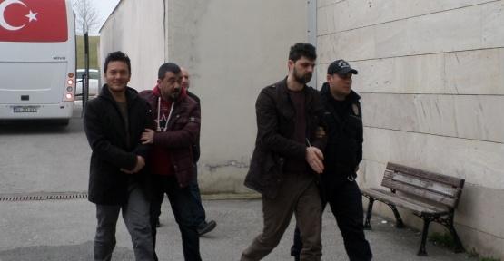 Aralarında ilçe müftülerinin de bulunduğu toplam 15 kişi adliyeye sevk edildi