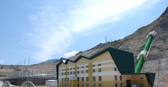 Arkun Barajı, Erzurum'un yarısından fazlasının elektrik ihtiyacını karşılıyor