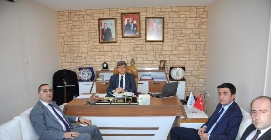 Aydemir'den Belediye Başkan Yardımcısı Ali Avcıoğlu'na ziyaret