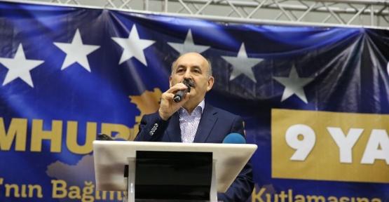 Bakan Müezzinoğlu Kosova'nın bağımsızlık yıldönümü kutlamalarına katıldı