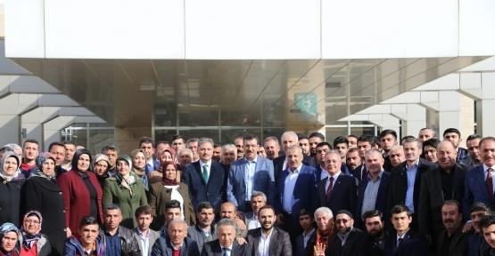 Bakan Tüfenkci, hemşehrileri ile buluştu