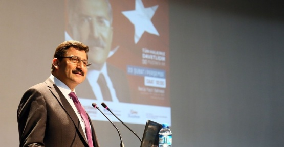 Bakan Yardımcısı Yayman Anayasa değişikliğini anlattı