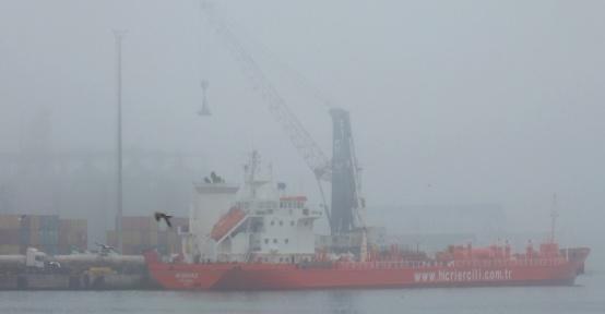 Bandırma Körfezi'nde yoğun sis