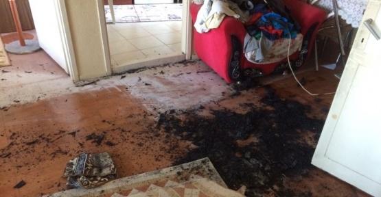 Bandırma'da ev yangınları