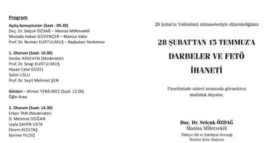 Başbakan Yardımcısı Kurtulmuş Manisa'da panele katılacak
