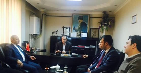 Başkan Aslan'dan Bakkallar ve Manavlar Odasına ziyaret