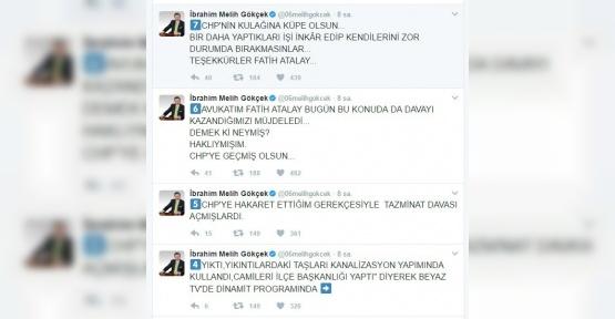 Başkan Gökçek'ten, CHP'ye karşı 2 dava zaferi daha