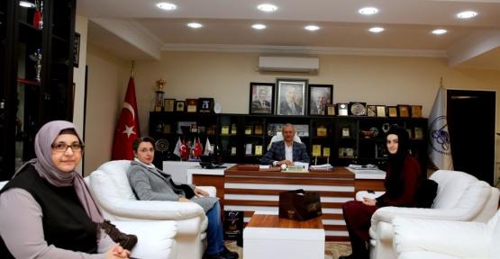 Başkanı Dişli'ye KADEM'den ziyaret