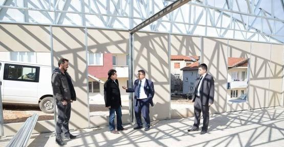 Beşiktaş Mahallesi Bayan Spor Merkezi 8 Mart'ta kadınların hizmetine sunulacak