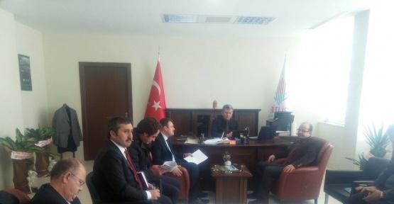 Bitlis'te 'Mera Komisyonu' toplantısı