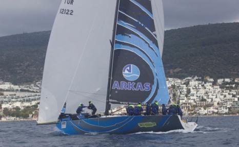 Bodrum BAYK Cup'ta Arkas Sailing Team Rüzgarı Hız Kesmedi