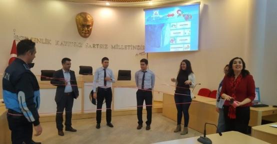 Burhaniye belediyesi çalışanlarına hizmet içi eğitim
