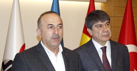 """Çavuşoğlu: """"Münbiç'ten sonra hedef Rakka"""""""