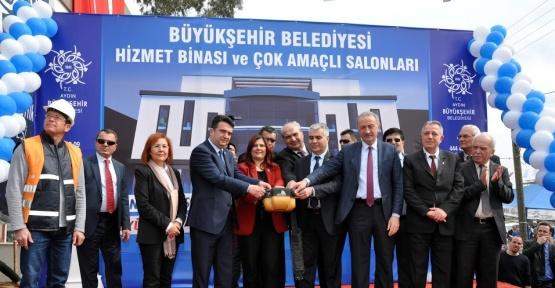 """Çerçioğlu; """"Nazilli'ye iki buçuk yılda 23 milyonluk yatırım yaptık"""""""
