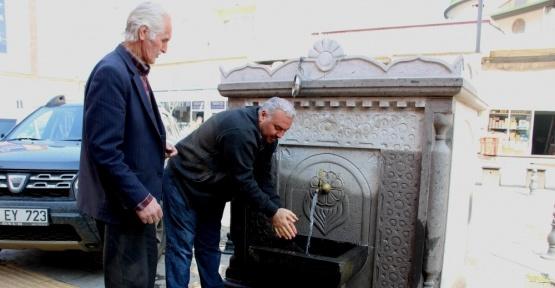Çeşme kültürü Tekkeköy'de yaşatılıyor