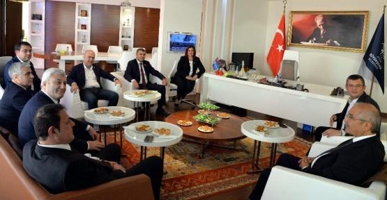 CHP milletvekillerinden Başkan Çerçioğluna ziyaret