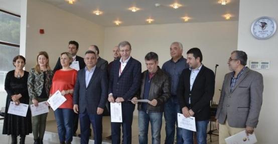 ÇOMÜ'de sertifika töreni