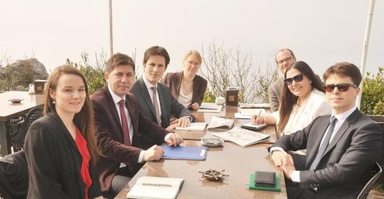 Diplomatlar TGC temsilcisi Öksüz ile buluştu