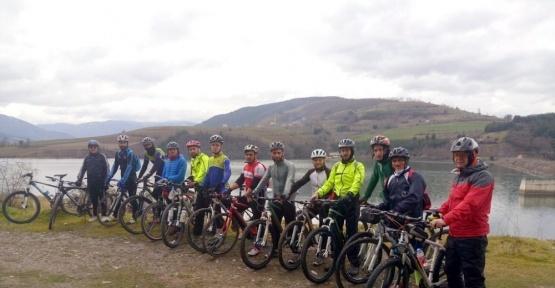 EKOBİD'den Kız Kayası'na bisiklet turu