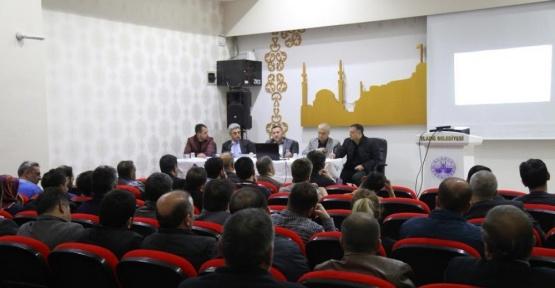 Elazığ Belediyesinde mühendisler değerlendirme toplantısı yaptı