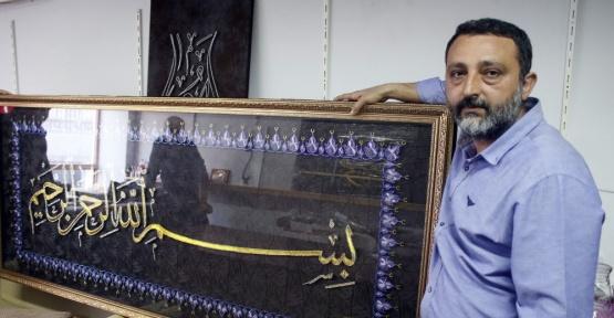 Ermeni asıllı kuyum ustasından Çamlıca Camii'ne dev eser