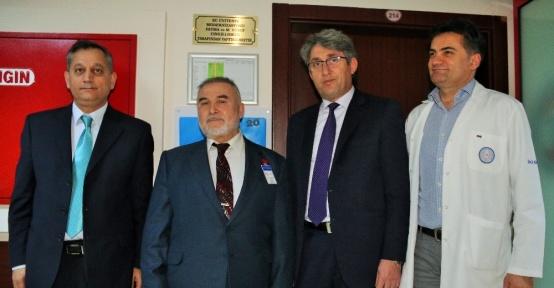 ERÜ Çocuk Hastanesi KİT Ünitesi'ne hayırsever katkısı