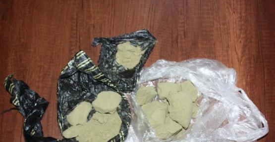Erzincan'da uyuşturucu satıcısı 2 kişi tutuklandı
