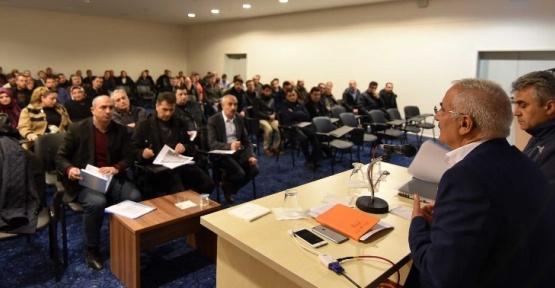 ESKİ'den yatırım ve proje değerlendirme toplantısı