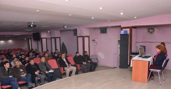 Ev ve süs hayvanları satışı yapan iş yeri sahiplerine eğitim semineri
