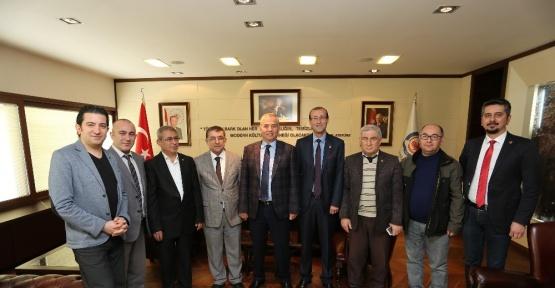Gazeteciler Cemiyeti'nden Başkan Zolan'a ziyaret