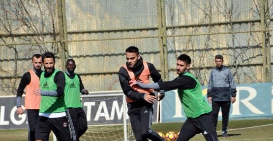 Gaziantepspor, Fenerbahçe maçı hazırlıklarına devam ediyor