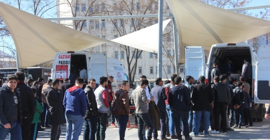 Gaziantepspor taraftarlarından Fenerbahçe maçına yoğun ilgi