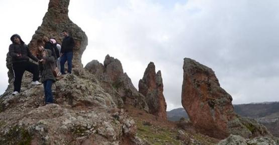 Gelin kayalıkları ilgi bekliyor