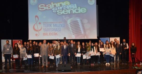 Gençlik Merkezleri Arası Kültür ve Sanat Yarışmaları Bilecik İl Birinciliği gerçekleştirildi