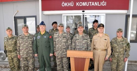 Genelkurmay Başkanı Orgeneral Akar, Gaziantep ve Kilis bölgesini ziyaret etti