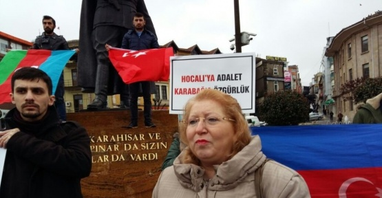 Giresun Üniversitesi 'Hocalı' için yürüdü
