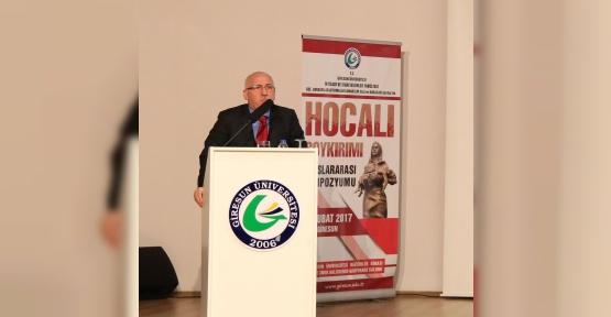 Giresun Üniversitesi'nde 'Hocalı Soykırımı' sempozyumu düzenlendi