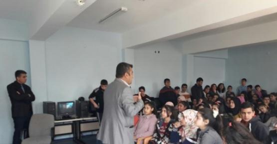 Girne ortaokulunda başarı ve motivasyon semineri verildi