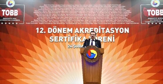 """Hisarcıklıoğlu: """"İnşallah 2017'de reel sektör için belirsizlik yerine umut hâkim olacak"""""""