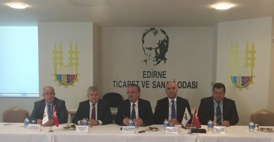 Hizmet sektörü temsilcileri ETSO'da buluştu