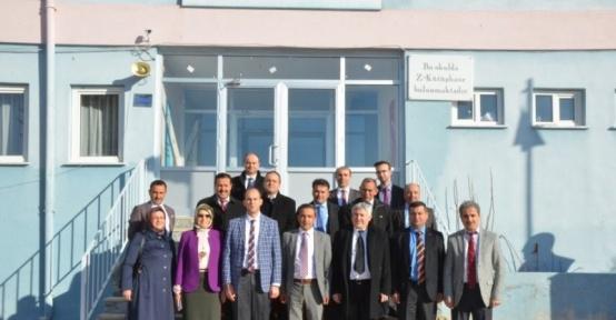 İlçe Milli Eğitim Müdürleri Toplantısı Yenipazar'da yapıldı
