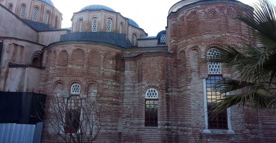 İstanbul Zeyrek Camii'nde Restorasyon Çalışmaları Tamamlanıyor
